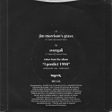 [Image: 'Jim Morrison's Grave (UK)' Back Cover]
